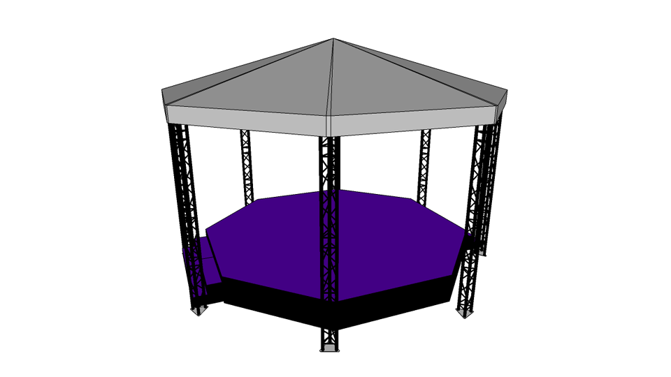 Bandstand Hire 1 with carpet