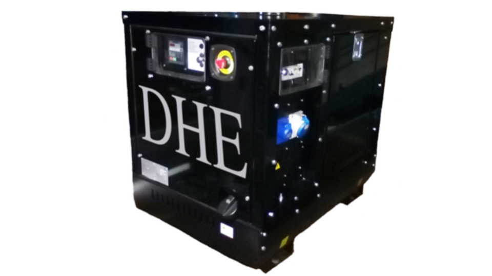 Durham Stage Hire 8KVA Ultra Silent Road Towable Diesel Generator